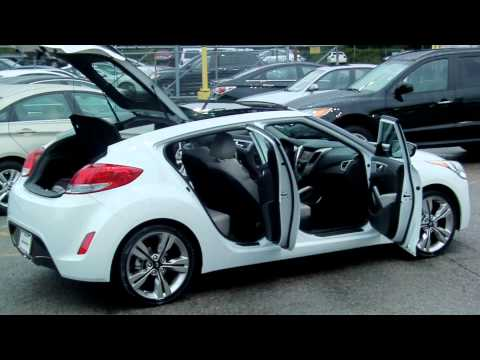 2012 Veloster with Technology Package Pass Doors Open.MOV