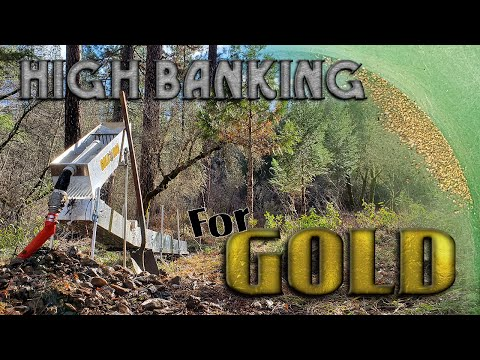 High Banking For Gold With The Gold Hog Raptor Highbanker