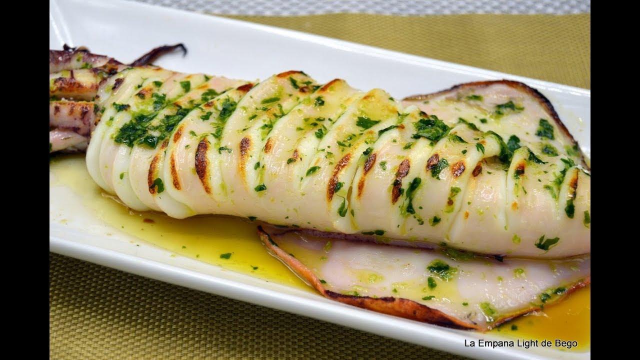 Calamar A La Plancha Con Salsa Meri Trucos