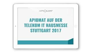 ApiOmat Messe Showcase auf der Telekom IT Hausmesse Stuttgart 2017
