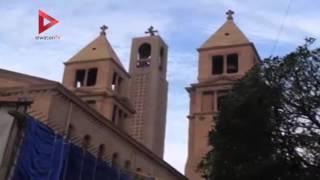 بالفيديو| لحظة وصول جثمان بطرس غالي إلى الكنيسة البطرسية