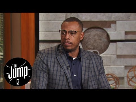Paul Pierce says Kyrie Irving trade going public was 'best thing' for him | The Jump | ESPN