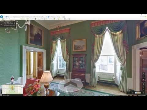 Video Dominion The White House Video Tour Exploration of various rooms can you find Hillary Clinton
