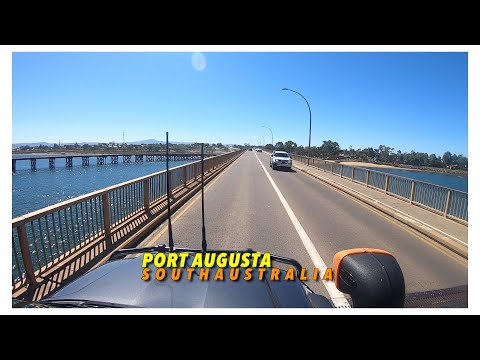 Port Augusta SA a drive around town