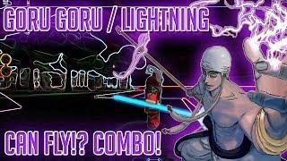 GORO GORO / LIGHTNING FRUIT | STEVE'S ONE PIECE | Roblox | Devil Fruit Showcase