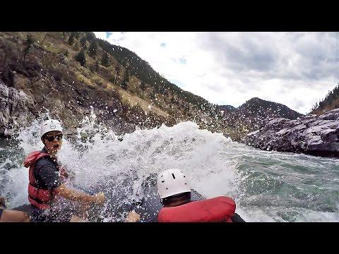 Thompson River White Water Rafting Canada 2016   GoPro Hero4
