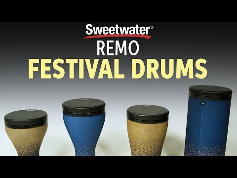 Remo Festival Drums Demo