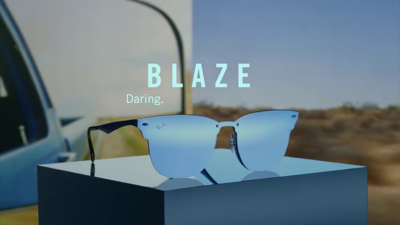 ee190494c9 RayBan Blaze Collection - YouTube