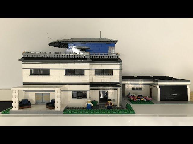Die White Villa (LEGO®/Klemmbausteine) MOC