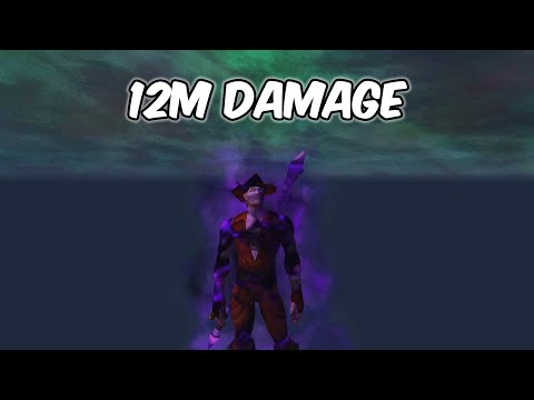 12M Damage - Shadow Priest PvP - WoW BFA 8.3