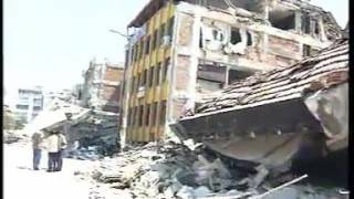 17 Ağustos 1999 Marmara Depremi ve Helikopter Çekimleri