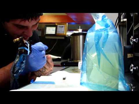 Worlds Smallest Tattoo Machine Tattoo