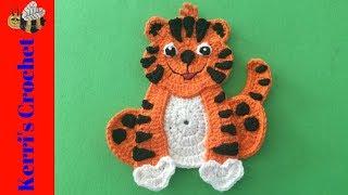 Crochet Crouching Tiger Tutorial