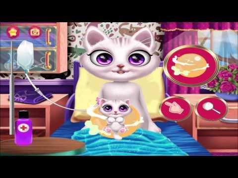 Pet Kitty's New Baby-My Princess Cat, Newborn Catty Care