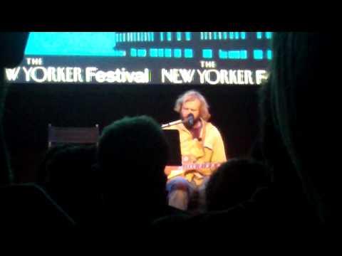 Justin Vernon (of Bon Iver) @ New Yorker Festival, 10/17/09
