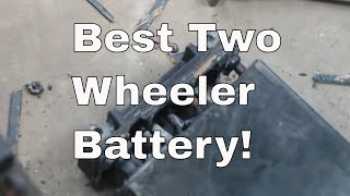 Best Battery for any Two Wheeler, Dry Cell, Sealed, VRLA, Maintenance free!