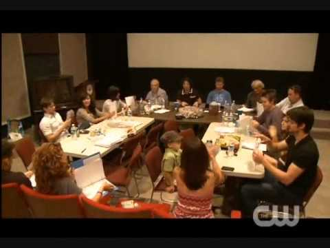 One Tree Hill - Season 7 - Behind The Scenes (First Read Through)