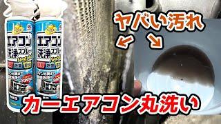 【閲覧注意】皆さんの車もこうなってるかも!!エバポレーター徹底洗浄 ステラカスタムRS
