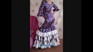 robes jupes et ensemble flamenco pour femme et petite fille.