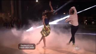 Zendaya & Val - Taniec z gwiazdami - tydzień 1 - Taniec współczesny