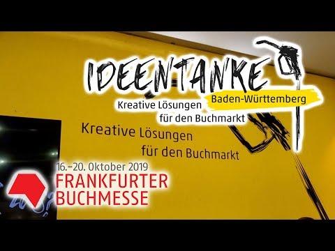 Ideentanke Baden-Württemberg auf der Frankfurter Buchmesse 2019