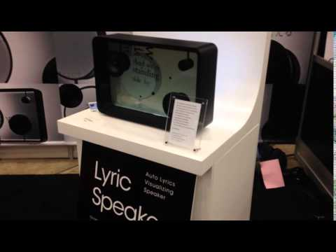 For Karaoke Lovers - Lyric Speaker by Six Inc. Japan