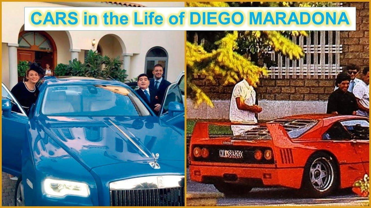 Diego Maradona The Cars In His Life Youtube