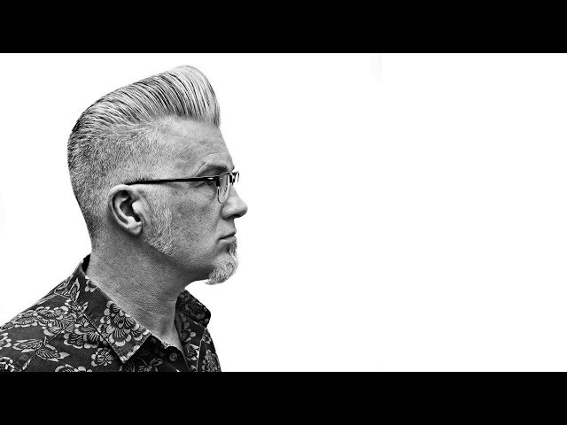ICONIC HAIRCUT: Textured QUIFF on Silver Fox