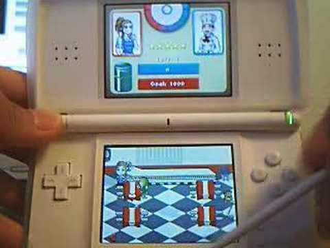 Diner Dash Nintendo DS Gameplay Video