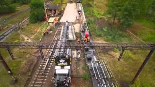 Track Tec: Pociąg zabudowy rozjazdów