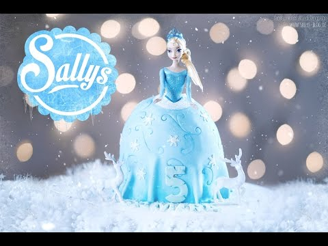 Frozen Elsa Torte / Barbie Torte / Geburtstagstorte