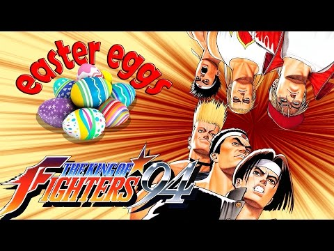 The King of Fighters 94 - Curiosidades y Secretos - EASTER EGGS