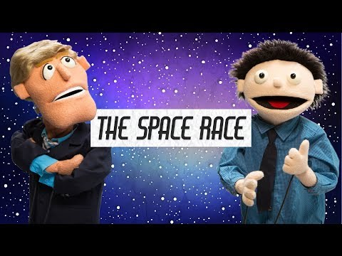The Space Race! | Future Puppet News