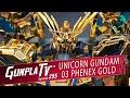 Golden HGUC Unicorn 03 Phenex Destroy Mode (Narrative Ver.) | Gunpla TV 295