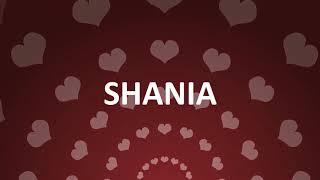 HAPPY BIRTHDAY SHANIA