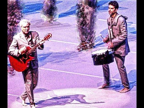 David Byrne --((( THE GREAT CURVE )))---(((  DAVID BYRNE  )))---((( UK TOUR  )))---( David Byrne )-