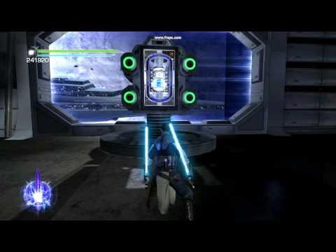 Star Wars The  Force Unleashed 2 - PC - cant grab that battery out of the cannon.