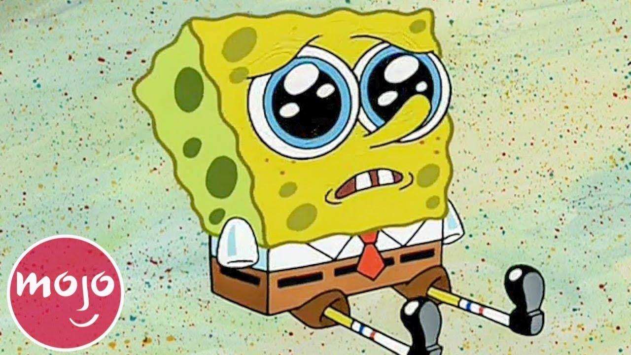 Top 10 Saddest Spongebob Squarepants Moments Youtube