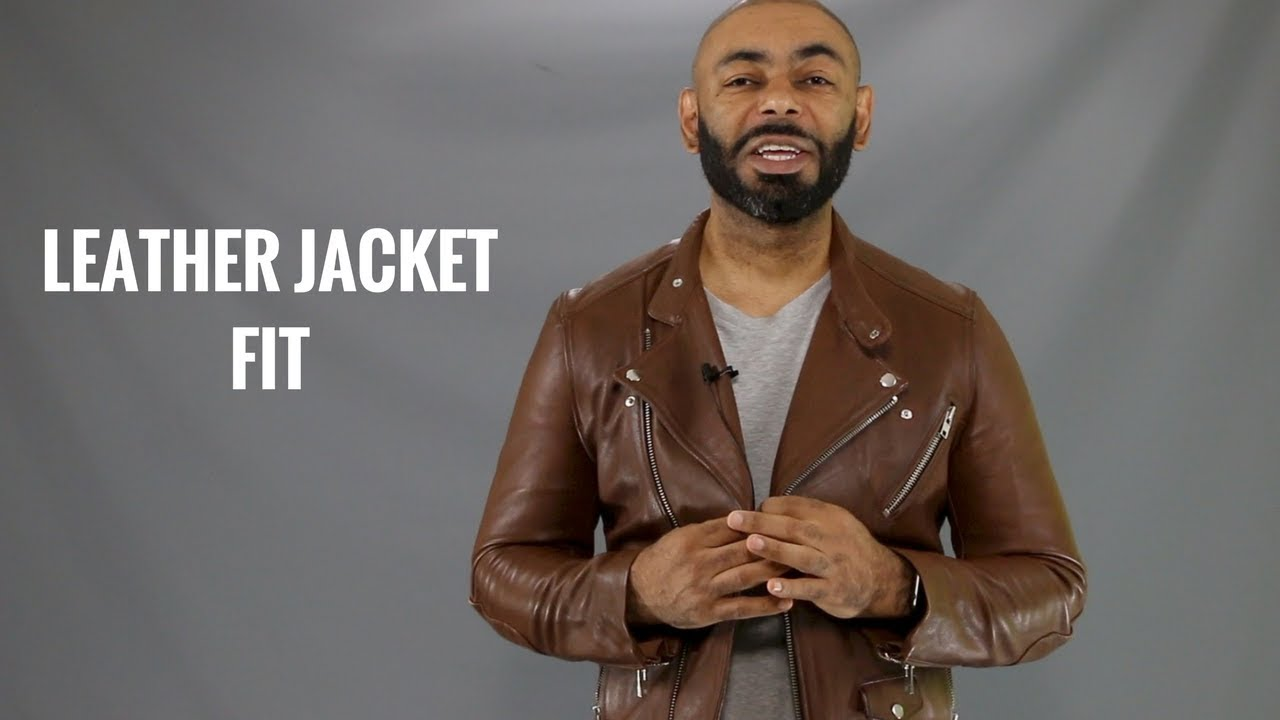 How A Men's Leather Jacket Should Fit/How To Buy A Men's ...