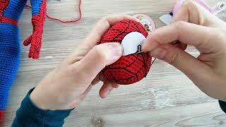 Spiderman kafa ve boyun dikimi