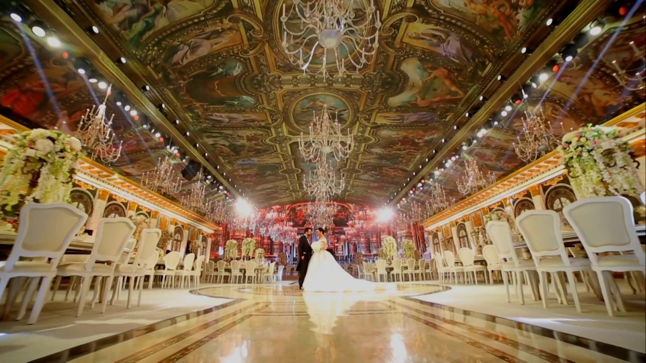 Versailles Inspired Wedding Setup In Beirut