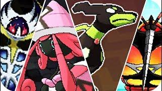 Pokemon Sun & Moon - All Legendary Pokémon Locations (1080p60)