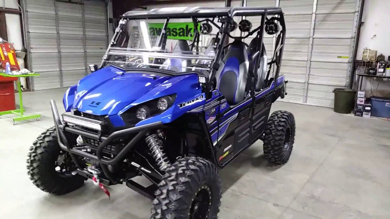 Teryx 4 Hester Edition Long Travel Sound System