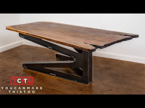 Make a Modern Coffee Table Top w/ 42 Fabricate
