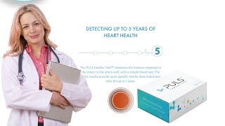 Predicting Heart Attacks for up to 5 Years with The PULS Test on Home and Lifestyle TV