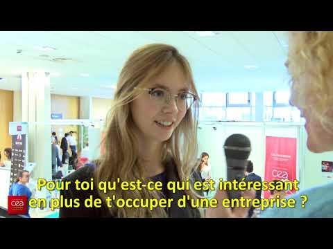 Le CEA Cadarache au forum FOCEEN des étudiants à Marseille