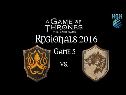 A Game of Thrones LCG 2.0 | Maritime Regionals Game 5: Greyjoy Crossing vs Stark Fealty