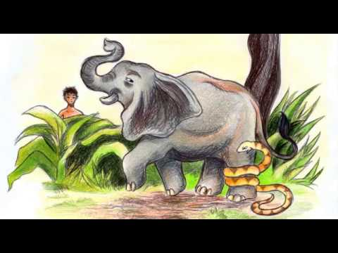 Viku and the Elephant, a children's story from the forests of India