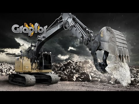 AMI Attachments - Graptor Bucket And Root Rake