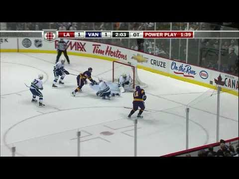 Outstanding Penalty Kill by the Canucks